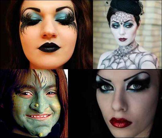 Макияж ведьмы на хэллоуин своими руками фото
