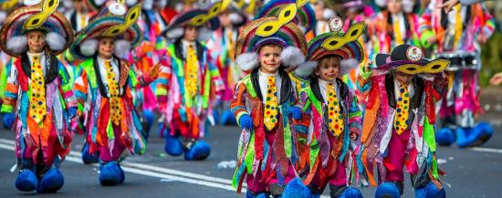 Карнавал в Санта - Крус - де - Тенерифе