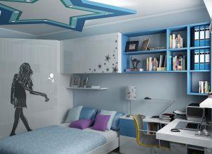 Дизайн спальни для девочки подростка