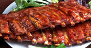 Рецепт бразильского горячего блюда со свиными ребрышками