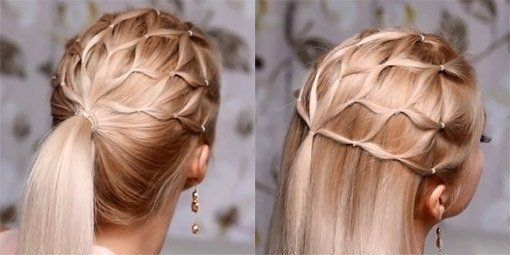 Использование резинок для волос