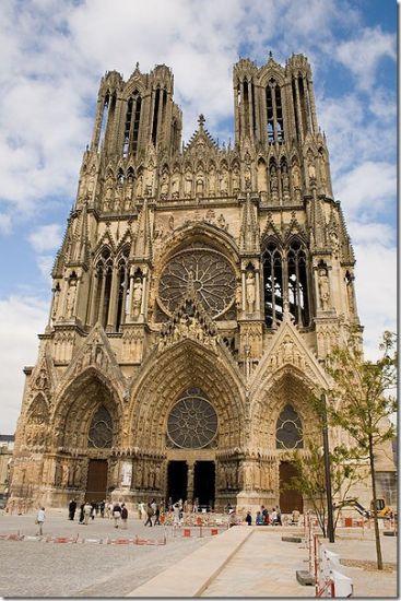 История архитектуры. Французские соборы