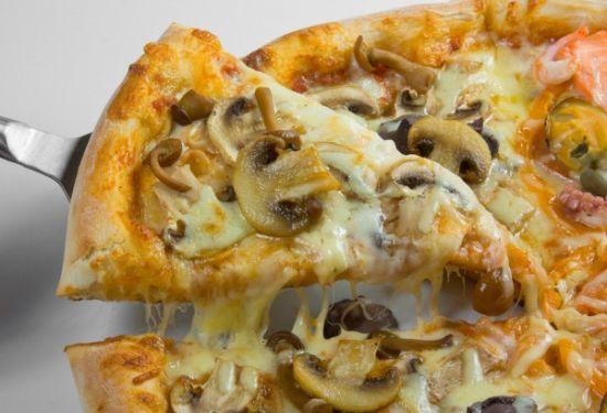 Быстрый рецепт пиццы с грибами
