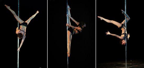 Займитесь своим телом на pole dance