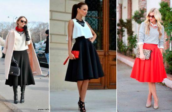 Идеальная пара - юбка и туфли