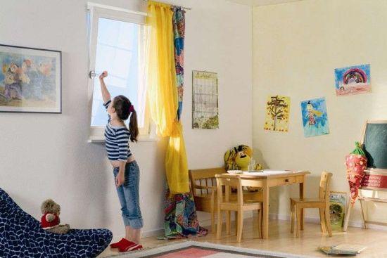 Правильное проветривание комнаты
