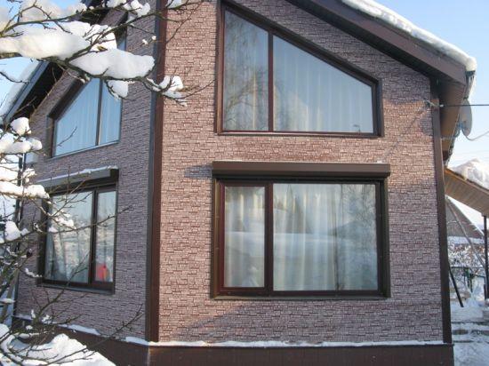 Пластиковые окна для частных коттеджей