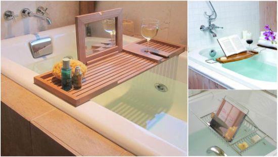 Как сделать столик в ванну