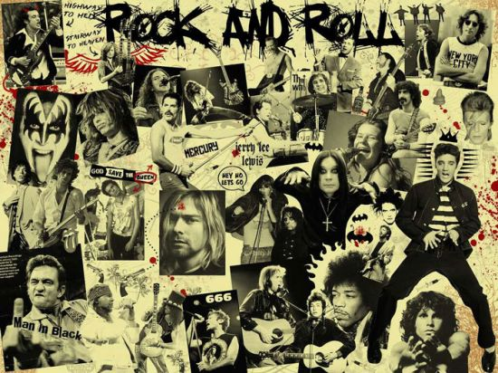 Музыкальные жанры. Хард-рок