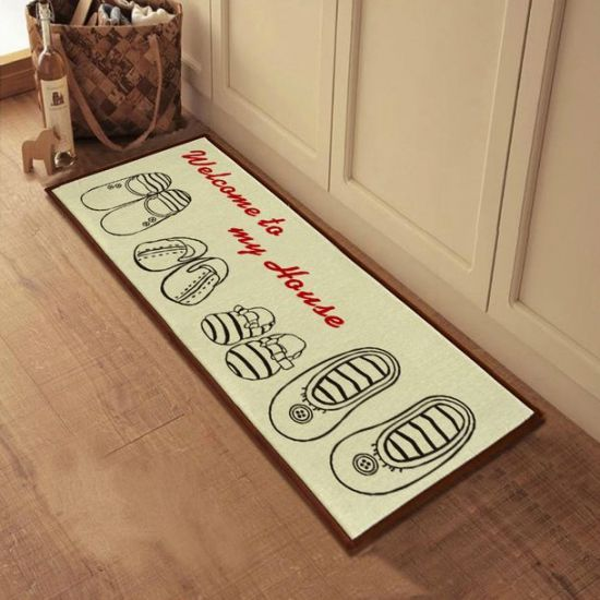 Дизайн ковриков для прихожей