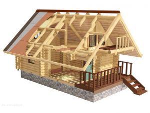 Строим дом из дерева