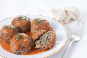 Рецепт гречнево-грибных тефтелей с подливой