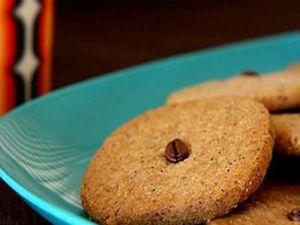 Воскресная выпечка - печенье кофейно-ореховое