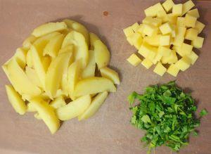 Рецепт кокосово-картофельного салата