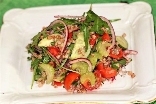 Гречневая диета с овощами: тонкости