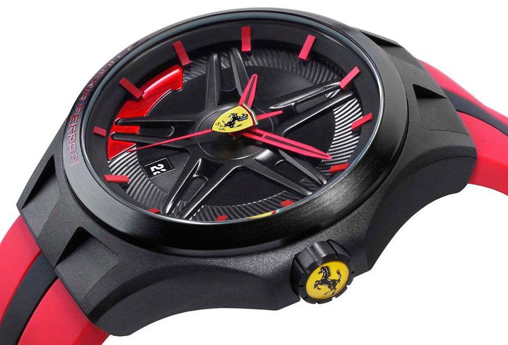 Часы ferrari создаются в кооперации с легендарным производителем спортивных автомобилей.