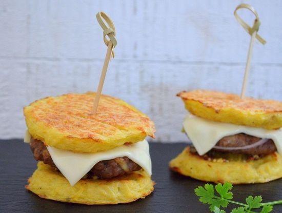 Гамбургеры картофельные и рецепт их приготовления