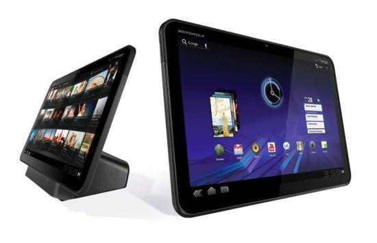 Motorola Xoom - красивый девайс