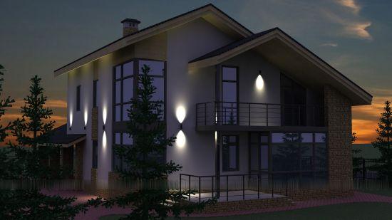 Архитектурное освещение: особенности и область его применения