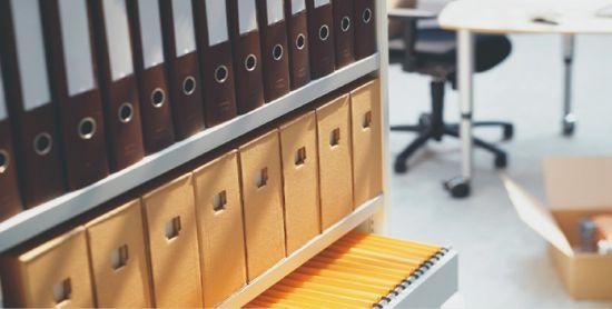 Хранение документов в офисе