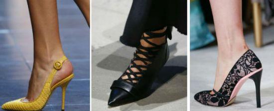 Женская обувь. Модные тенденции лета