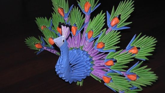Модульное оригами - искусство для терпеливых