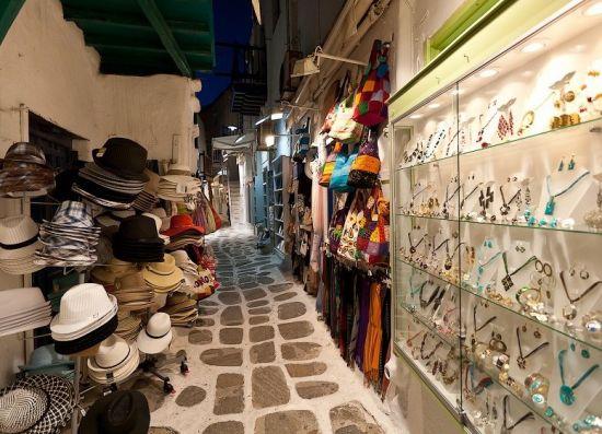 Рынок Миконоса
