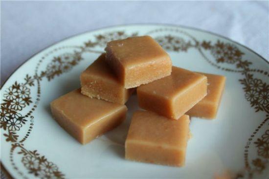 Закусочные конфеты-помадка по индийскому рецепту