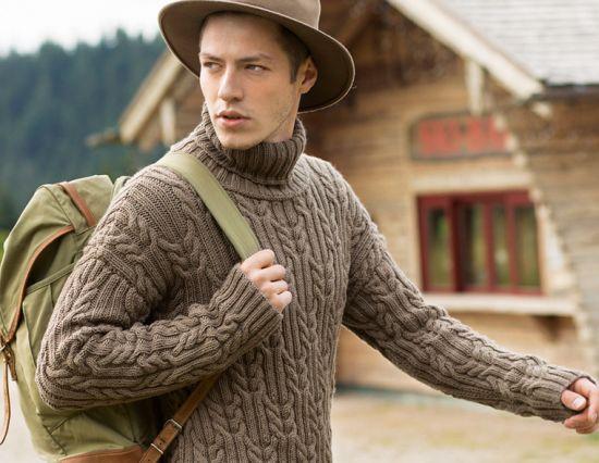 Как подобрать зимний свитер мужчине в подарок?
