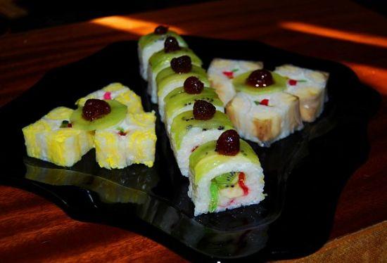 Суши сладкие и рецепт их приготовления