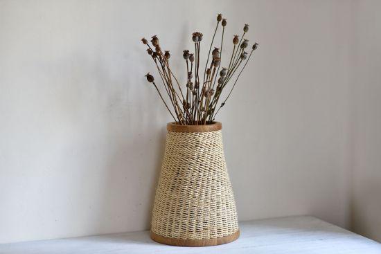 Ваза для цветов - плетение
