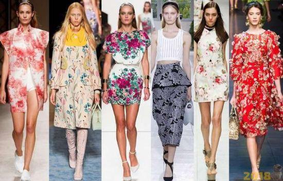 Модные платья. Весна 2018