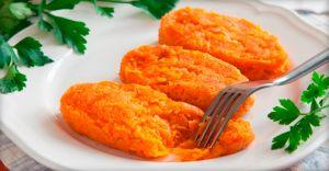 Яблочно-морковные диетические котлеты и рецепт их приготовления