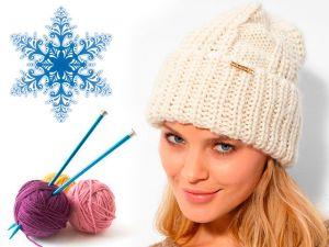 Как самостоятельно связать сумку и шапку на зиму