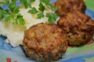 Тефтели картофельно-мясные