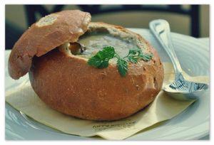 Суп в хлебе по-ирландски