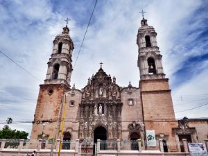Копия французского комплекса Santuario Nuestra Senora de Lourdes в Буэнос-Айресе