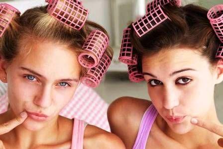 Уход за волосами девочки-подростка