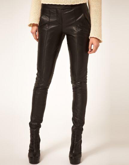 Кожаные джинсы