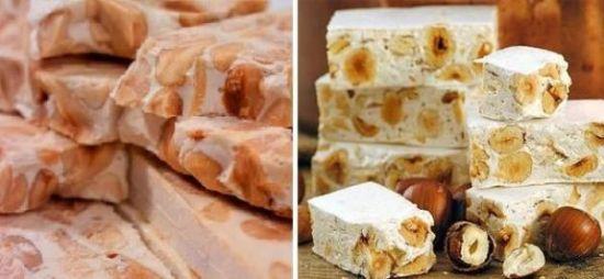 Туррон орехов-сливочный и рецепт его приготовления