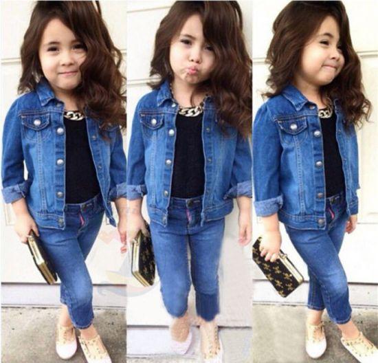 Детская джинсовая мода