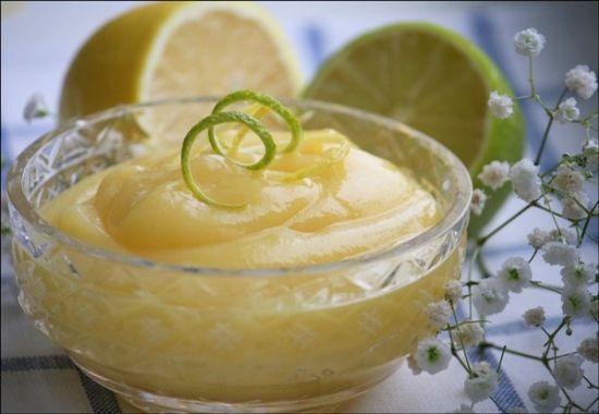 Курд лаймово-лимонный