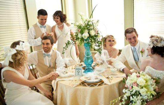 Оригинальный сценарий: свадьба в стиле «Великий Гэтсби»