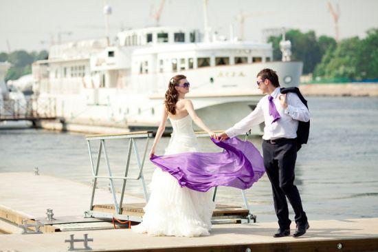 Идеальная свадьба на теплоходе