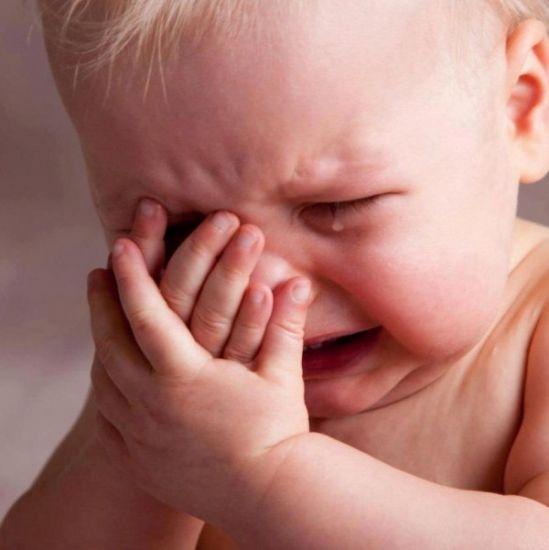 Как отучить ребенка плакать
