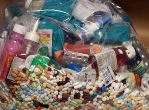 Лекарственные препараты. Вывоз и утилизация