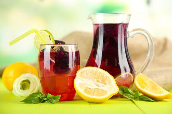 Освежающий лимонад из базилика