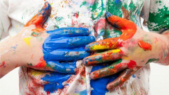 Как удалить пятна от масленой краски