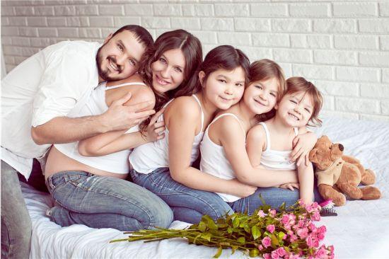 Как проходят семейные фотосессии