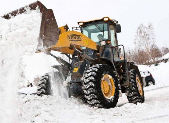 Как организовать вывоз снега